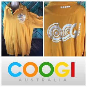 Coogi Embroidered Bright Long Sleeve Polo